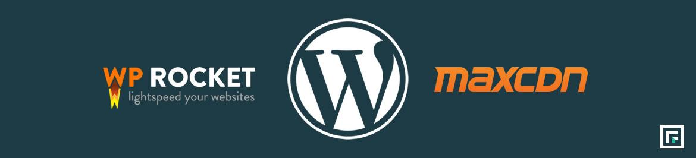 WordPress Site optimization with WP-Rocket & MaxCDN